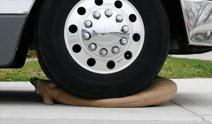 Rinehart Targets - Drive Over