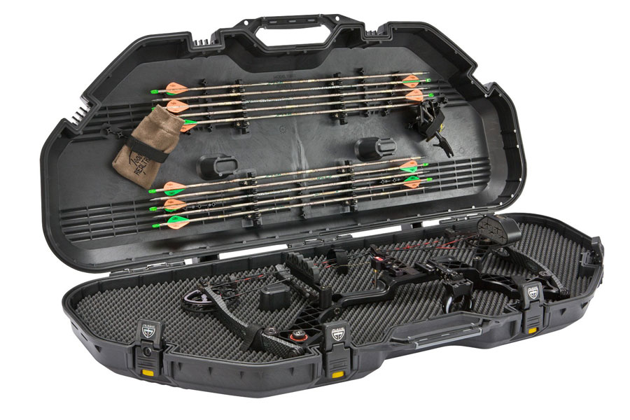Plano All Weather Bow Case Black/Yellow