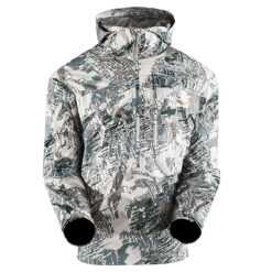 Sitka Gear Flash Pullover OPTIFADE Open Country GORTEX|Sitka Gear Flash Pullover Brushed Collar|Sitka Gear Flash Pullover Internal Taped Seams