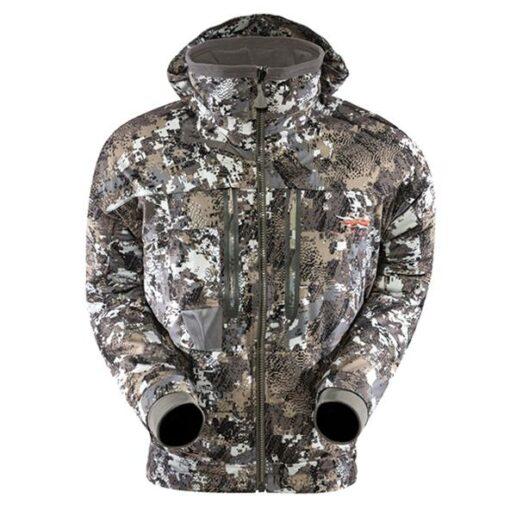 Sitka Gear Incinerator Jacket Optifade Elevated II|Sitka Gear Incinerator Jacket Insulated Hood|Sitka Gear Incinerator Jacket Interior Warming Pocket
