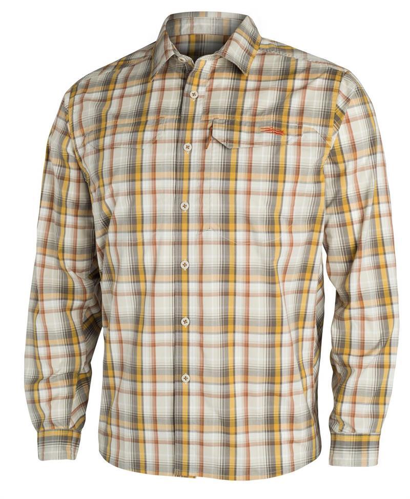 Sitka Gear TTW Closeout Globetrotter Shirt LS Sand Plaid (80002-ZP)