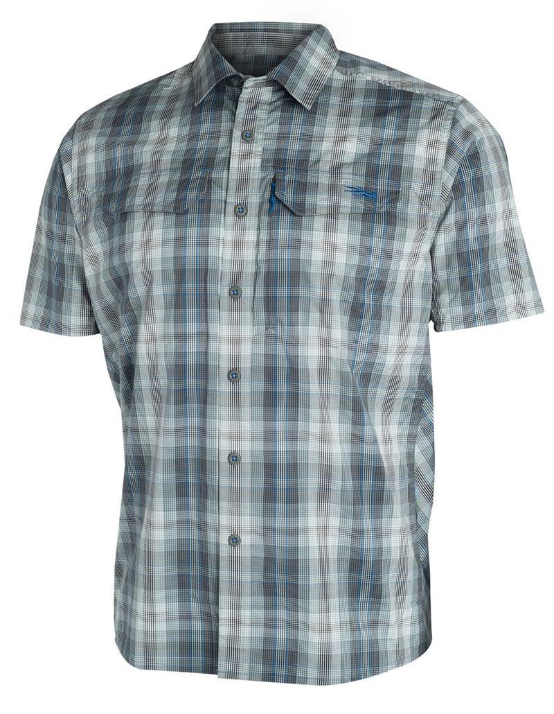 Sitka Gear TTW Closeout Globetrotter Shirt SS Shadow Plaid (80003-SP)