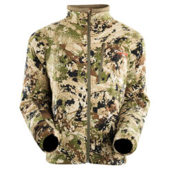Sitka Kelvin Active Jacket OPTIFADE Subalpine - Sitka Gear|Sitka Kelvin Active Jacket - Highly Breathable|Sitka Gear - Neck and Chin Brushed Tricot