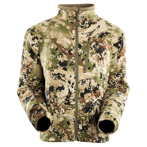 Sitka Kelvin Active Jacket OPTIFADE Subalpine - Sitka Gear Sitka Kelvin Active Jacket - Highly Breathable Sitka Gear - Neck and Chin Brushed Tricot