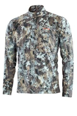 Sitka Gear - ESW Shirt OPTIFADE Elevated II  ESW Shirt High Collar for Sun and Bug Protection ESW Shirt Mesh Pits for Ventilation ESW Shirt ESW Shirt Zippered Chest Pocket