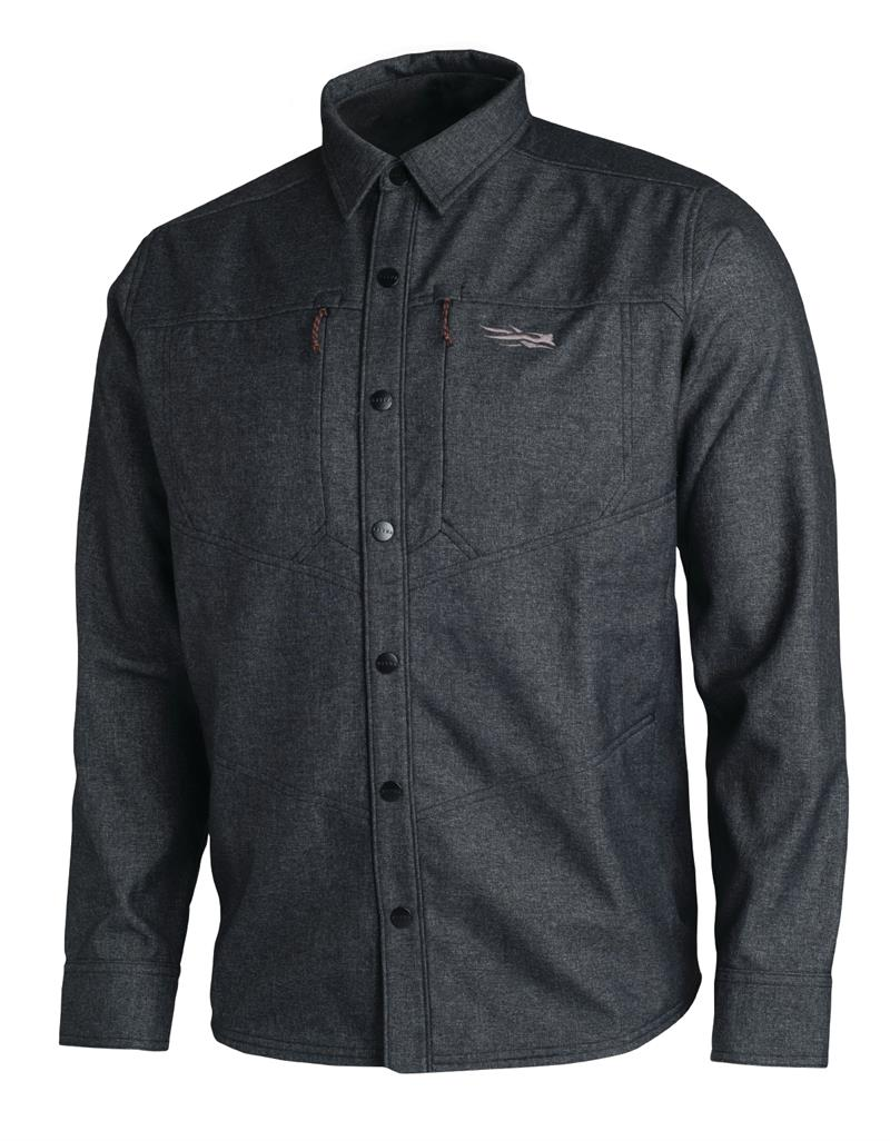 Sitka Gear TTW Highland Overshirt Black (80015-BK)
