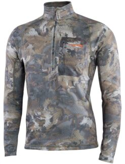 Sitka Gear - Merino Heavyweight Half-Zip Waterfowl Timber