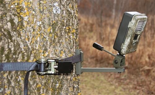 Game Camera Holder Strap On