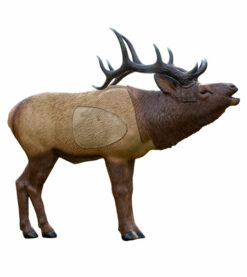 Rinehart Woodland Elk - 1/3 Scale - Elk Target Rinehart Woodland Bull Elk on Stand (SMALL ELK)