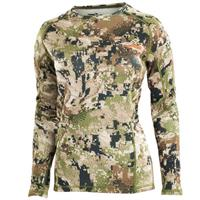 Sitka Gear Womens - Midweight Crew LS Optifade Subalpine