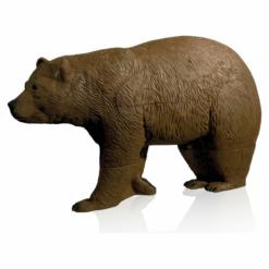 Delta Mckenzie Elite Walking Bear Archery Target|Delta Mckenzie Elite Walking Bear Archery Target Size Illustration