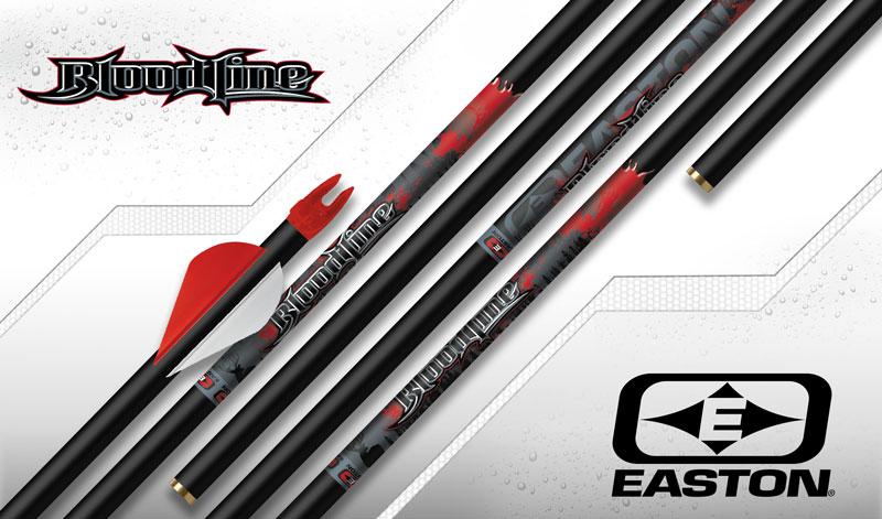 Easton Bloodline 6MM Arrows Vane Fletched