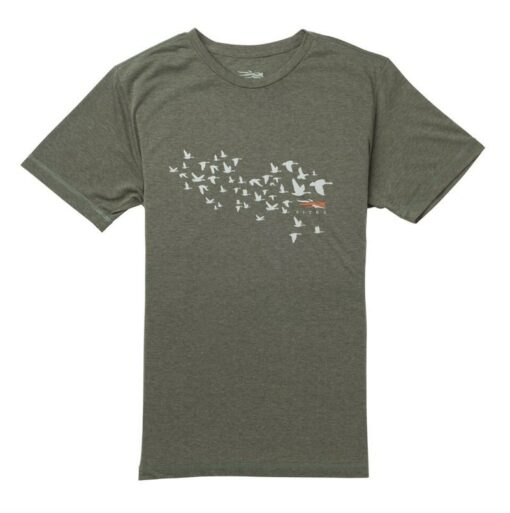 Sitka Gear - Migration Tee SS Deep Olive Heather