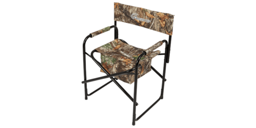 Ameristep Director Chair - Ground Blind Hunting Chair - Realtree Edge