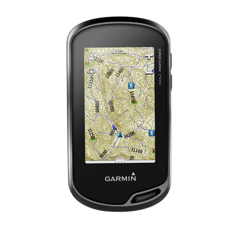 Garmin Oregon 750t Handheld GPS Garmin Oregon 750t Handheld GPS Side View Garmin Oregon 750t Handheld GPS Back View