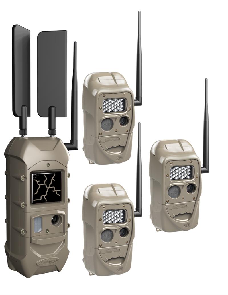 Cuddeback Cuddelink Cell Starter Kit 3+1 Trail Cameras