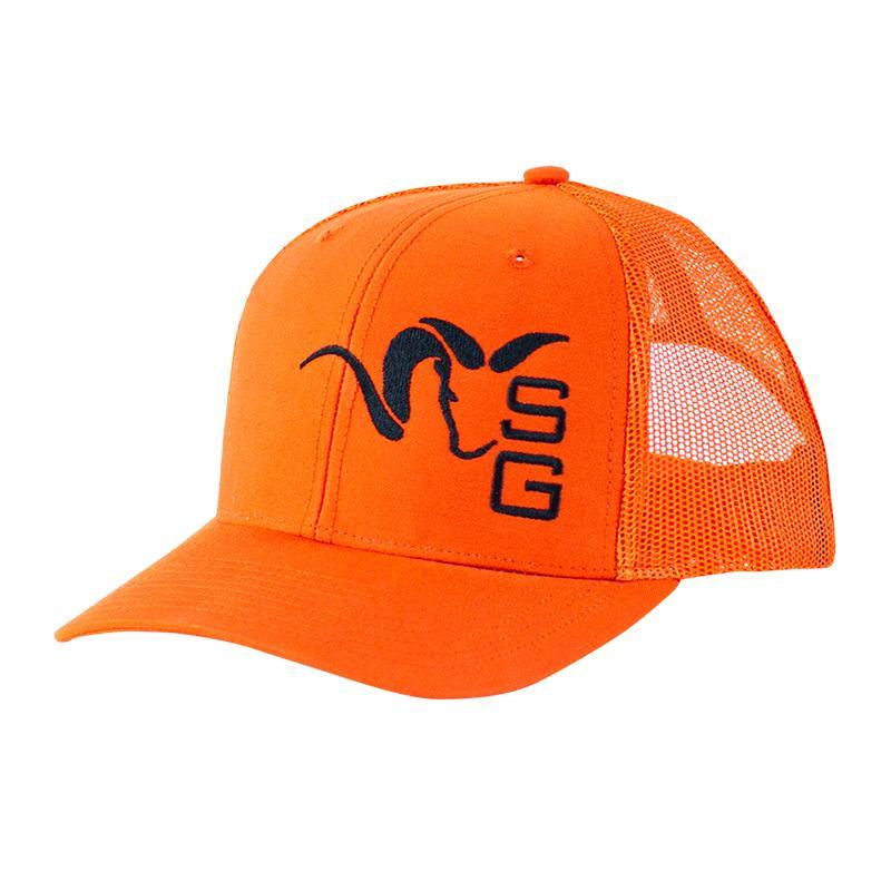 Stone Glacier SG Ram Trucker Hat Blaze Orange