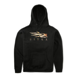 Sitka Gear - Marsh Logo Hoody Black