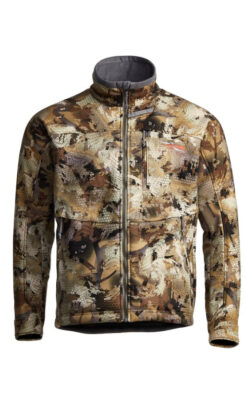Sitka Gear - Dakota Jacket OPTIFADE Waterfowl Marsh (50239-WL)|Dakota Jacket Zippered Chest Pocket|Dakota Jacket Waist Adjustment Cord|Sitka Gear - Dakota Jacket OPTIFADE Waterfowl Marsh (50239-WL)