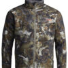 Sitka Gear - Dakota Jacket OPTIFADE Waterfowl Timber (50239-TM)|Dakota Jacket Zippered Chest Pocket|Dakota Jacket Hand Pockets|Dakota Jacket Waist Adjustment Cord