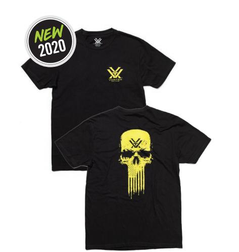 Vortex Optics T Shirt - Toxic Tee Charcoal Heather