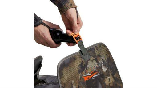 Sitka Gear - Wader Storage Bag OPTIFADE Waterfowl Timber (40083-TM)|Shoulder Straps|Wader Storage Bag Bottle Opener|Boot Jack