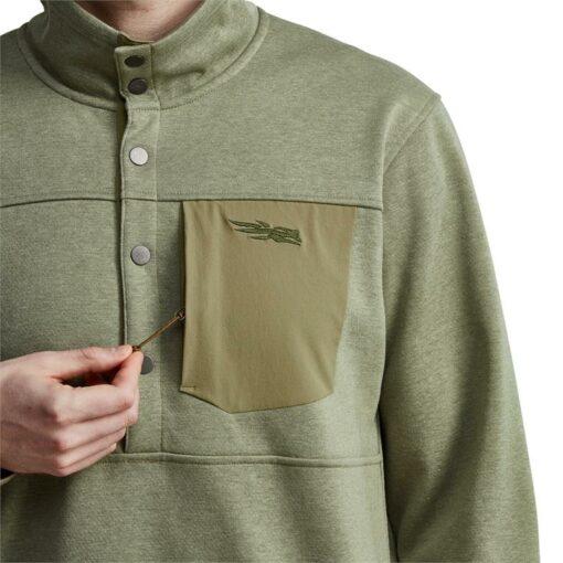 Shop - Sitka Gear - Front Range Snap Fleece Sagebrush|||||