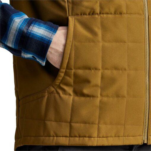 Shop - Sitka Gear - Grindstone Work Vest Olive Brown||||||