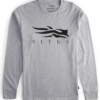 Shop - Sitka Gear - Icon Long Sleeve Tee Heather Grey 