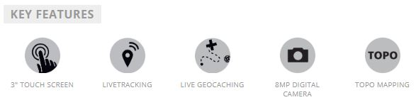 Garmin Oregon 750t GPS - Key Features, Garmin Oregon 750t GPS, Key Features, Touch Screen, Live Tracking, Live Geocaching, 8mp Camera, Topo Mapping