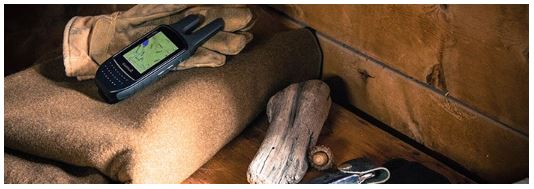 Garmin Rino 755t GPS at Work, Gloves, Blanket, Cabin, In The Field, GPS, Wilderness