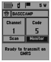 Garmin Rino 700 GPS Basecamp, Garmin Rino 700 GPS Basecamp View, Garmin Rino 700 GPS Basecamp Screen View, Garmin Rino GPS