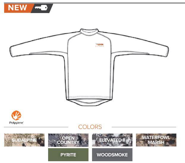 Shop Sitka Gear - Core LW Long Sleeve Shirt Option
