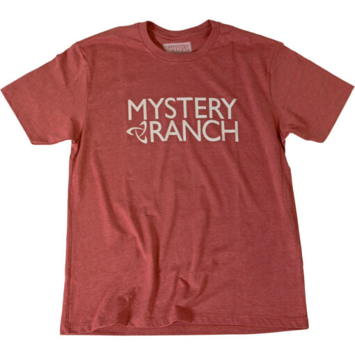 Mystery Ranch Logo Tee Red Clay Heather