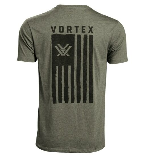 Vortex Salute Tee Military Heather
