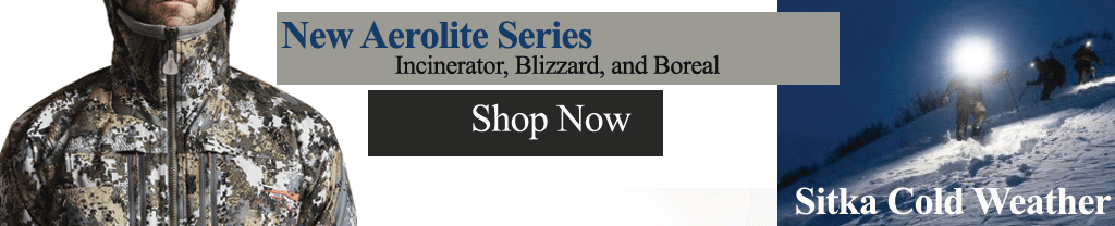 Sitka Aerolite Series Winter Gear