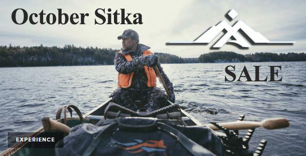 Sitka Gear October November Deals